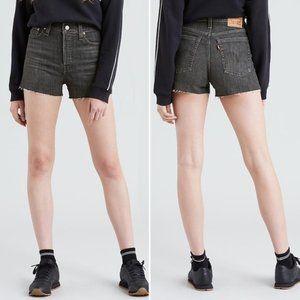 Levi's High Rise Denim Shorts Speak for Itself